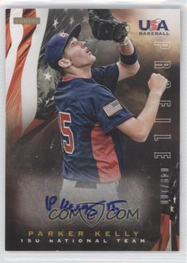 2012 Panini USA Baseball National Team 15U National Team Profile #12 - Parker Kelly /100