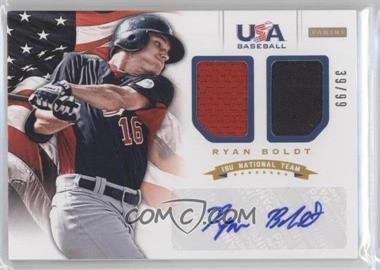 2012 Panini USA Baseball National Team 18U National Team Dual Jerseys Signatures [Autographed] #4 - Ryan Boldt /99