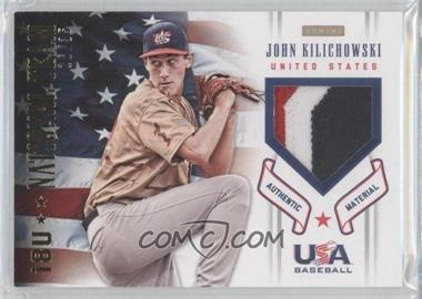 2012 Panini USA Baseball National Team 18U National Team Patches #10 - John Kilichowski /35