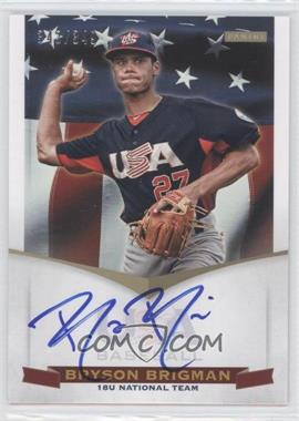 2012 Panini USA Baseball National Team 18U National Team Signatures #BB - Bryson Brigman /349