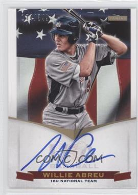 2012 Panini USA Baseball National Team 18U National Team Signatures #WA - Willie Abreu /349