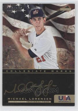 2012 Panini USA Baseball National Team Collegiate National Team Collegiate Marks #13 - Michael Lorenzen /100
