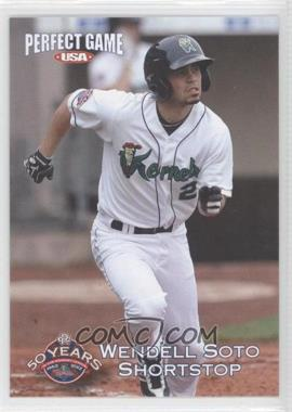 2012 Perfect Game USA Cedar Rapids Kernels - [Base] #21 - Wendell Soto