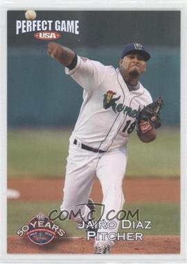 2012 Perfect Game USA Cedar Rapids Kernels #18 - Jairo Diaz