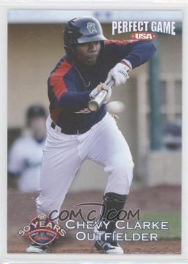 2012 Perfect Game USA Cedar Rapids Kernels #22 - Chevy Clarke