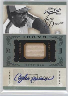 2012 Playoff Prime Cuts - Icons - Bats Signatures [Autographed] #1 - Andre Dawson /25