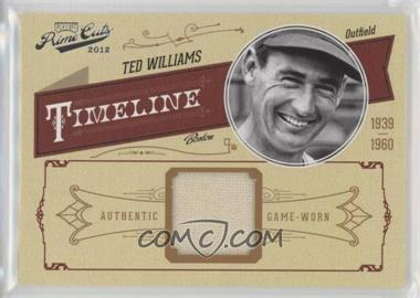 2012 Playoff Prime Cuts - Timeline - Materials [Memorabilia] #46 - Ted Williams /99