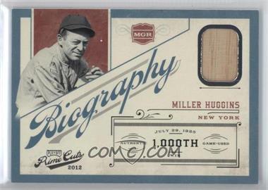 2012 Playoff Prime Cuts Biography #16 - Miller Huggins /99