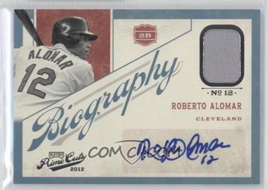 2012 Playoff Prime Cuts Biography #19 - Roberto Alomar /99