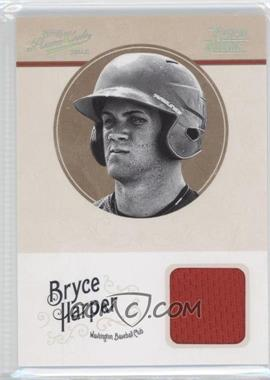 2012 Playoff Prime Cuts Century Silver #10 - Bryce Harper /49