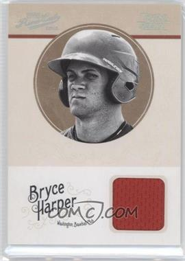 2012 Playoff Prime Cuts Century Silver #10 - Bryce Harper /49