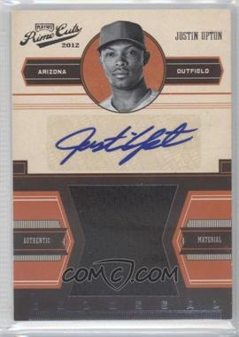 2012 Playoff Prime Cuts Colossal Signatures [Autographed] #13 - Justin Upton /25