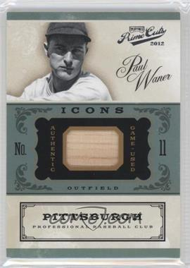 2012 Playoff Prime Cuts Icons Bats #40 - Paul Waner /99