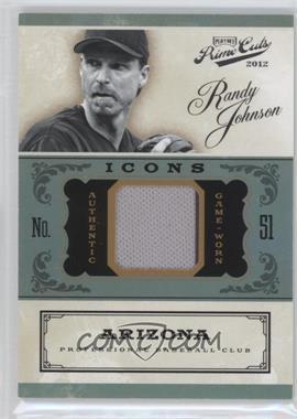 2012 Playoff Prime Cuts Icons #19 - Randy Johnson /99