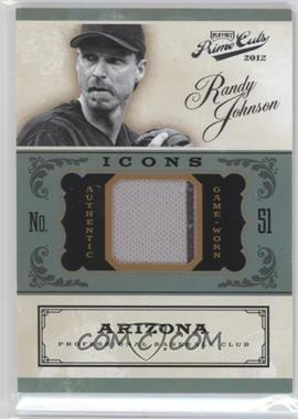 2012 Playoff Prime Cuts Icons #19 - Randy Johnson /99