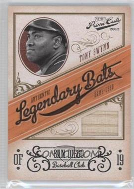 2012 Playoff Prime Cuts Legendary Bats #25 - Tony Gwynn /99