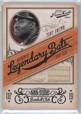 2012 Playoff Prime Cuts Legendary Bats #25 - Tony Gwynn /99