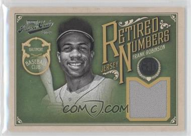 2012 Playoff Prime Cuts Retired Jersey Numbers #20 - Frank Robinson /20