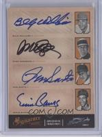 Billy Williams, Ryne Sandberg, Ron Santo, Ernie Banks /5