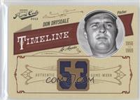 Don Drysdale /53