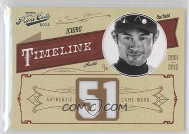2012 Playoff Prime Cuts Timeline Jersey Number Materials [Memorabilia] #23 - Ichiro /51