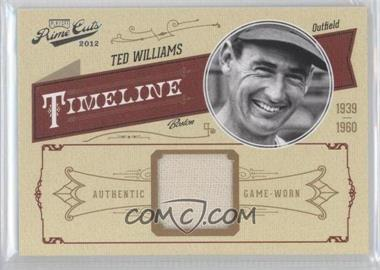 2012 Playoff Prime Cuts Timeline Materials [Memorabilia] #46 - Ted Williams /99