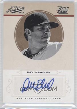 2012 Playoff Prime Cuts #60 - David Phelps /149