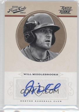 2012 Playoff Prime Cuts #99 - Will Middlebrooks /149
