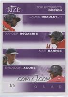Jackie Bradley Jr., Xander Bogaerts, Matt Barnes, Brandon Jacobs /5