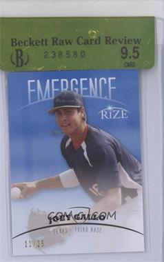 2012 Rize Emergence Blue #EM-8 - Joey Gallo /25