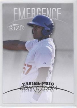 2012 Rize Emergence #EM-15 - Yasiel Puig
