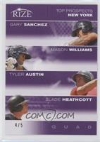 Gary Sanchez, Mason Williams, Tyler Austin, Slade Heathcott /5