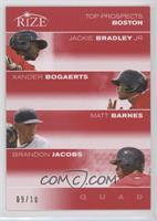Jackie Bradley Jr., Xander Bogaerts, Matt Barnes, Brandon Jacobs /10