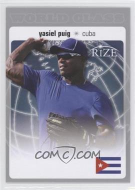 2012 Rize World Class #WC-16 - Yasiel Puig