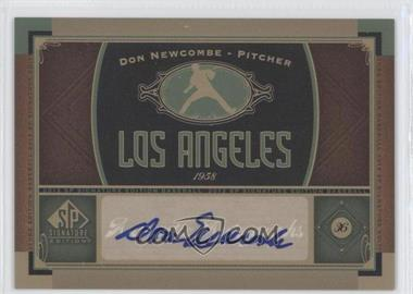 2012 SP Signature Collection - [Base] - [Autographed] #LA 3 - Don Newcombe