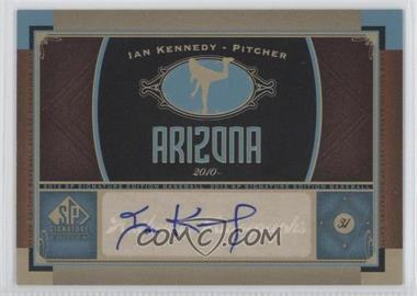 2012 SP Signature Collection [Autographed] #AZ 8 - Ian Kennedy