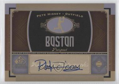 2012 SP Signature Collection [Autographed] #BOS 25 - [Missing]