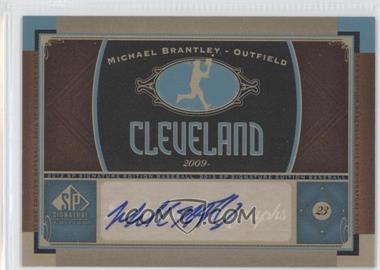 2012 SP Signature Collection [Autographed] #CLV 10 - Michael Brantley
