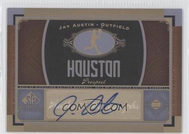 2012 SP Signature Collection [Autographed] #HOU 7 - Jamal Austin