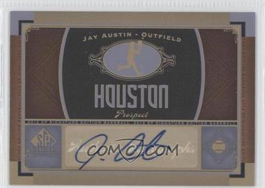 2012 SP Signature Collection [Autographed] #HOU 7 - Jay Austin