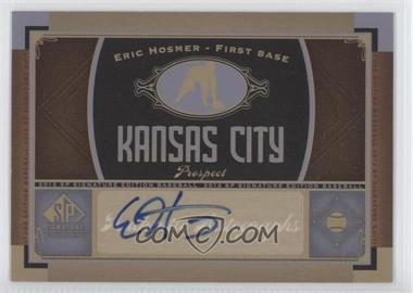 2012 SP Signature Collection [Autographed] #KC 11 - Eric Hosmer