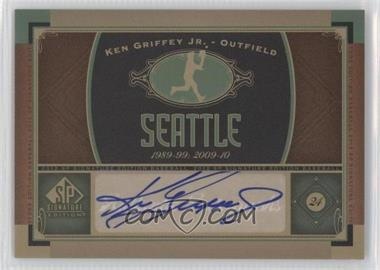 2012 SP Signature Collection [Autographed] #SEA 3 - Ken Griffey Jr.