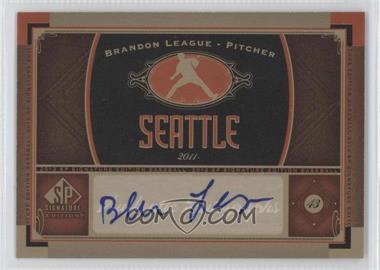 2012 SP Signature Collection [Autographed] #SEA 6 - Brandon League