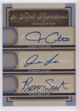 2012 SP Signature Edition [???] #HOU14 - Jason Castro