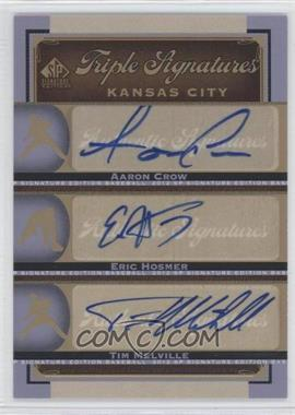 2012 SP Signature Edition [???] #KC17 - Aaron Crow, Eric Hosmer, Timber Mead, Tim Melville