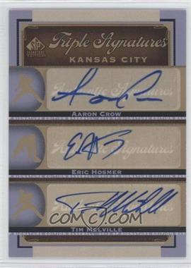 2012 SP Signature Edition [???] #KC17 - Aaron Crow, Eric Hosmer