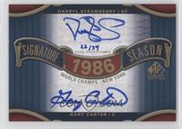 Darryl Strawberry, Gary Carter /34