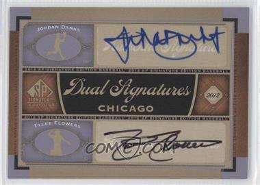 2012 SP Signature Edition Dual Signatures #CHW10 - Jordan Danks, Tyler Flowers