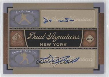 2012 SP Signature Edition Dual Signatures #NYY23 - [Missing]