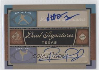 2012 SP Signature Edition Dual Signatures #TEX11 - [Missing]